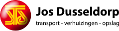 logo van Jos Dusseldorp B.V. transport – verhuizingen – opslag