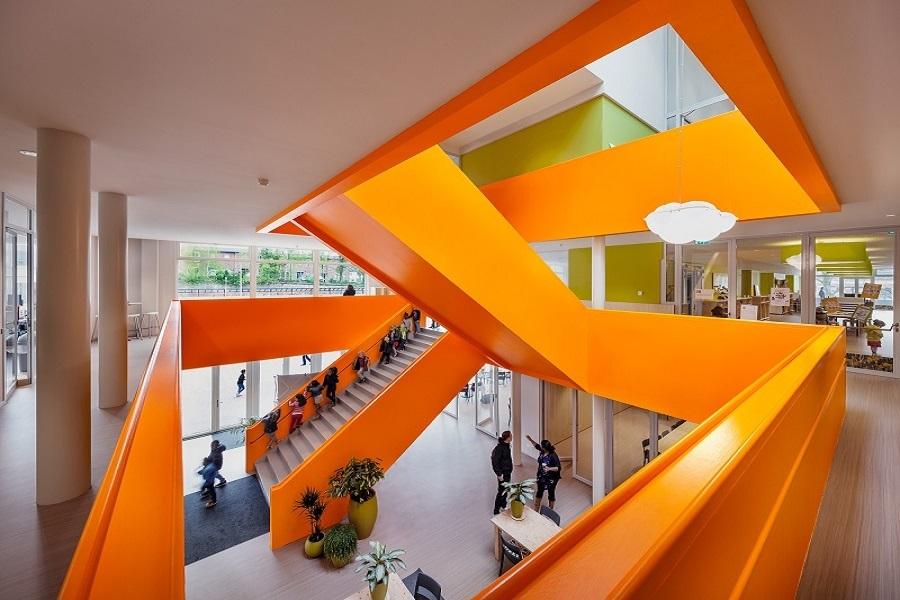 nieuwbouw van MFC Klarendal - Arnhem