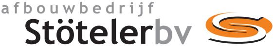 logo van Stöteler B.V. Afbouwbedrijf