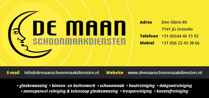 Logo van De Maan Schoonmaakdiensten