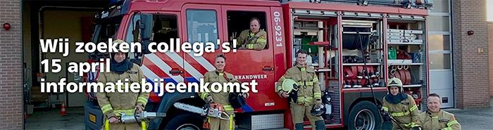 Brandweerpost Groenlo heeft tekort aan nieuwe brandweerlieden.